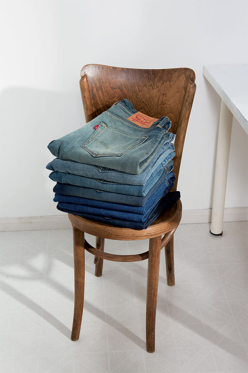 icons jeans denim chair