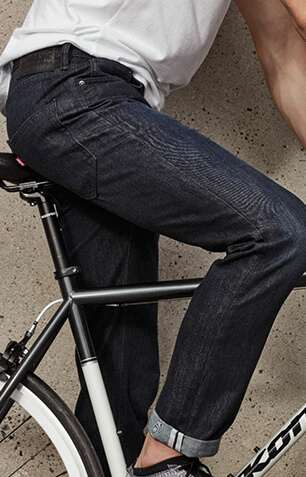 levi's commuter bike men