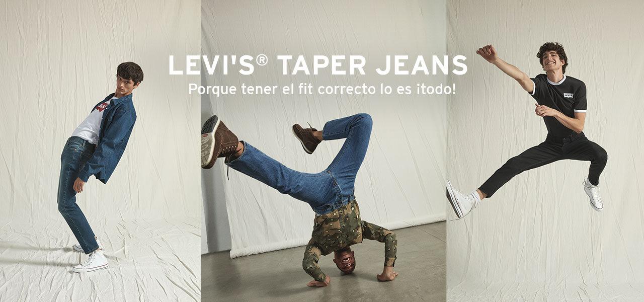 taper jeans