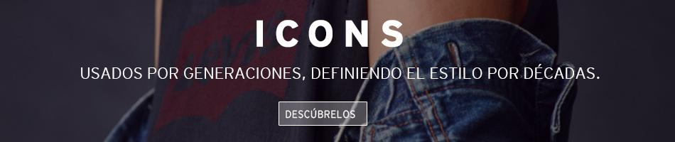 icons, usados por generaciones, definiendo el estilo por décadas